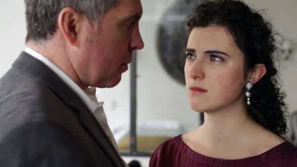 Gael (Pascal Escriout) and Amanda (Eloise Eonnet) having an intense moment.