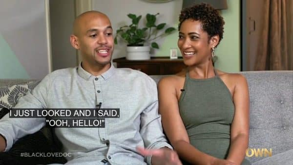 Justin Riley and Joy Ashley as they talk about how they met.