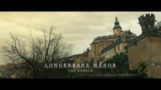 Longerbane Manor from the outside.