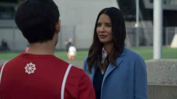 Monica asking Nazim to wipe her memories.