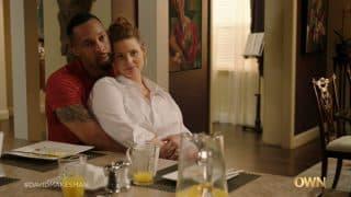 Ray (Jimel Atkins) and Jessica (Gillian Williams) cuddled up.