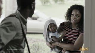 Young Gloria (Lauryn Dennis) confronting Darius.