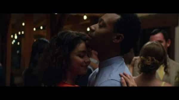 Mara (Sarah Hyland) and Jake (Tyler James Williams) slow dancing together.