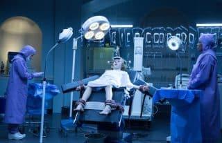 Eli (Charlie Shotwell) having a procedure done.