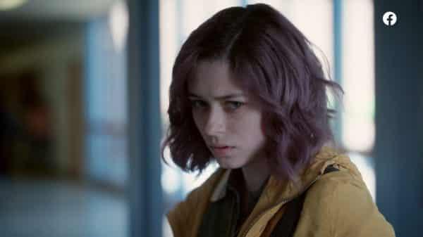 Evie (Xaria Dotson) plotting her revenge.