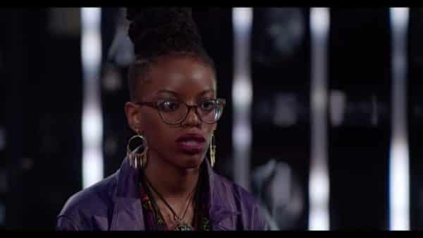 Felisha George being critiqued.