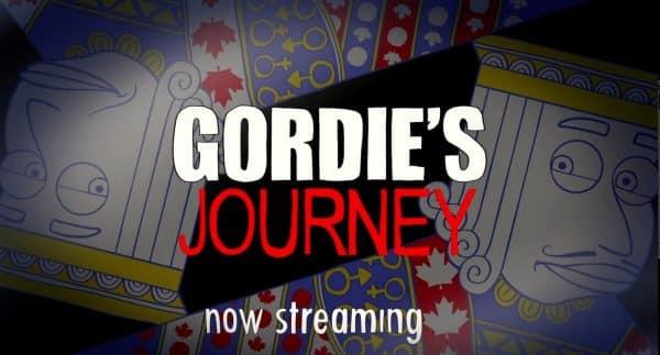 Gordie's Journey Title Card