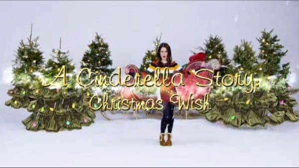 Title Card - A Cinderella Story Christmas Wish (2019) - Movie
