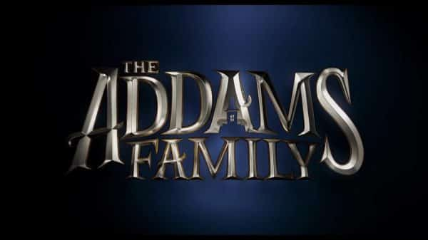 Title Card - The Adams Family (2019) - Movie