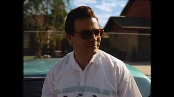 Abraham (Richardo Chavira) looking off to the side, rocking some shades.