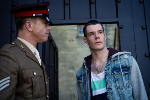 Adam (Connor Swindells) taking in military school.