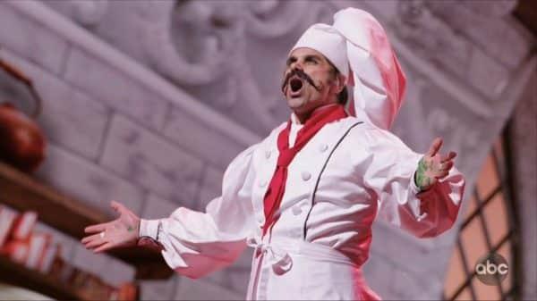 John Stamos as Chef Louis.