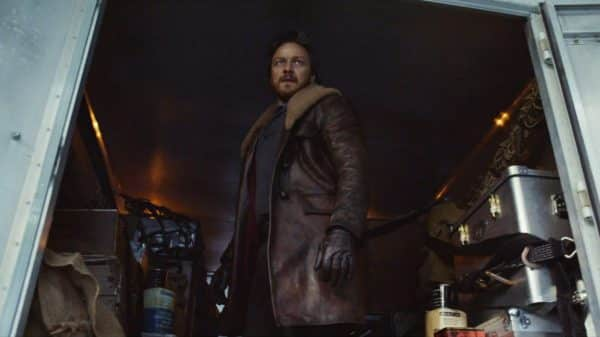 Lord Asriel (James McAvoy) who is Lyra's uncle and a controversial explorer/ scholar.