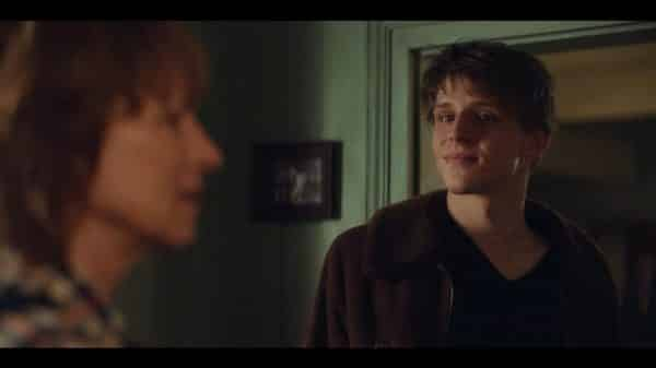 Peter (Merlin Rose) meeting Eva.
