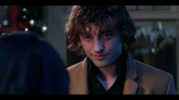 Sir Cole (Josh Whitehouse) in modern clothes.