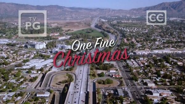 Title Card - One Fine Christmas (2019) - Review