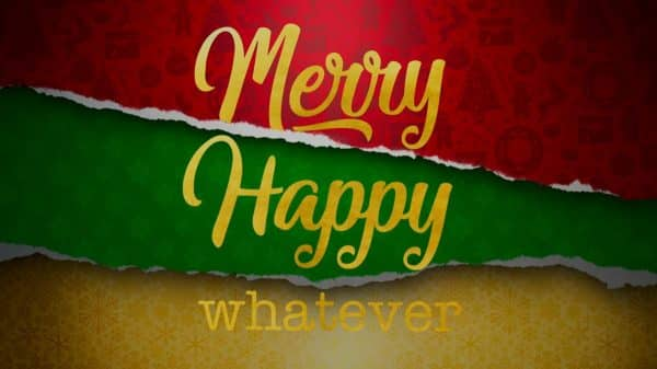Title Card - Merry Happy Whatever Season 1, Episode 1