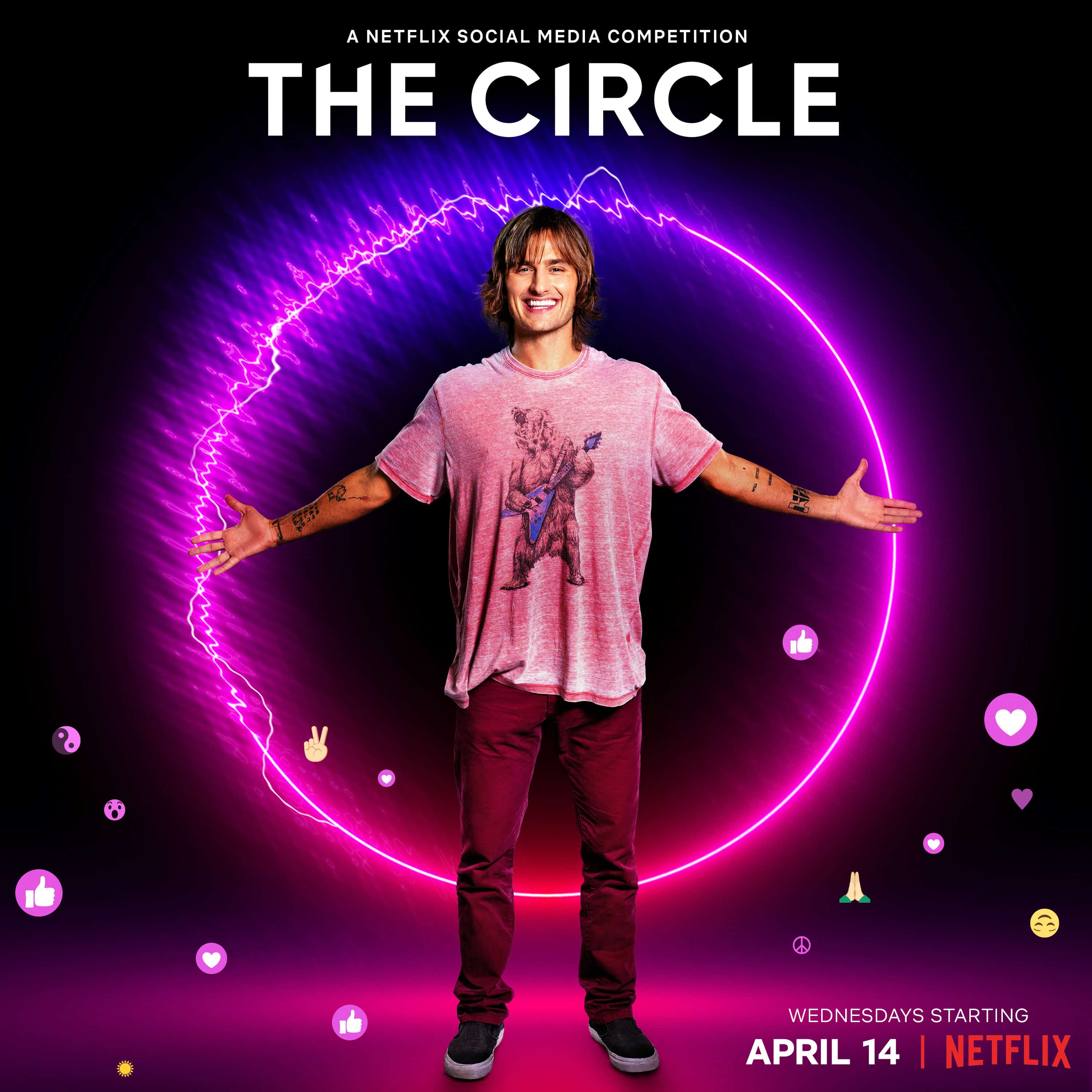 Bryan in promotional material for The Circle Season 2