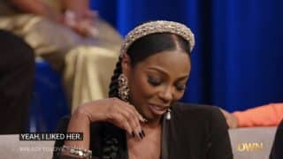 Kimber showing off her Zara jewelry.