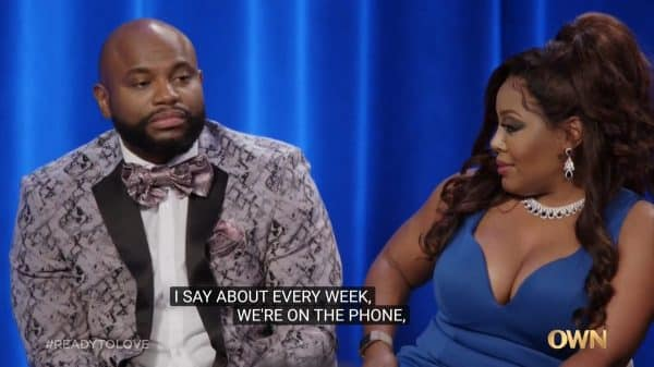 Terrell revealing him and Nina talk about every week.