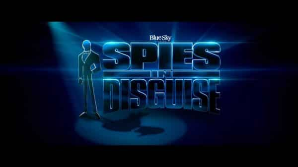 Title Card - Spies In Disguise (2019)
