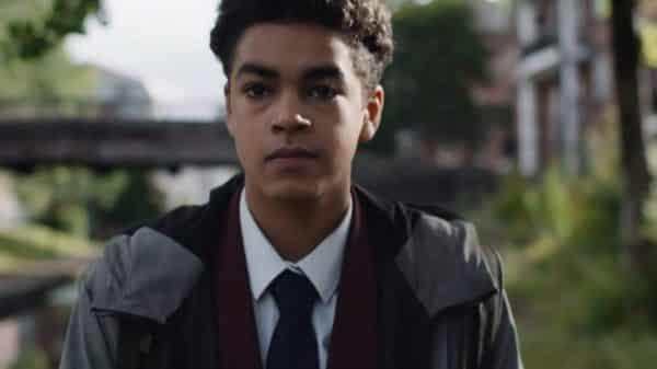 Will (Amir Wilson) walking home.