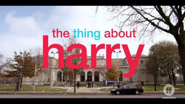Title Card - The Thing About Harry (2020)