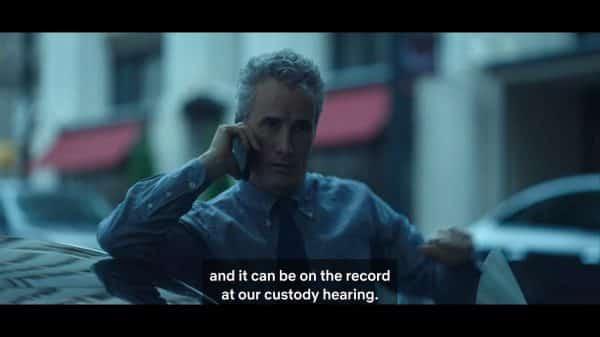 Gene (Douglas Dickerman) talking to his soon ex-wife.