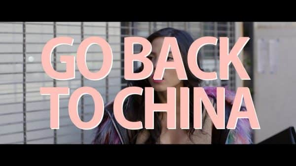 Title Card - Go Back To China (2020)