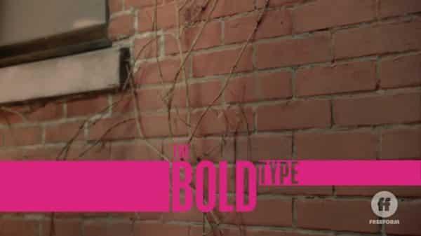 Title Card - The Bold Type Season 4