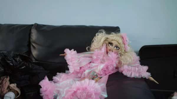 A Trixie doll that Katya gave to Trixie.