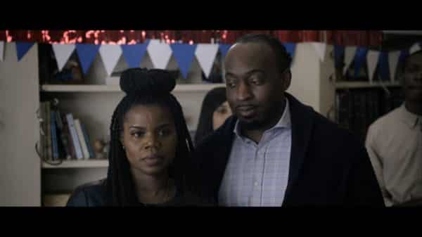 Kelly Jenrette as Brenda with her unnamed husband.