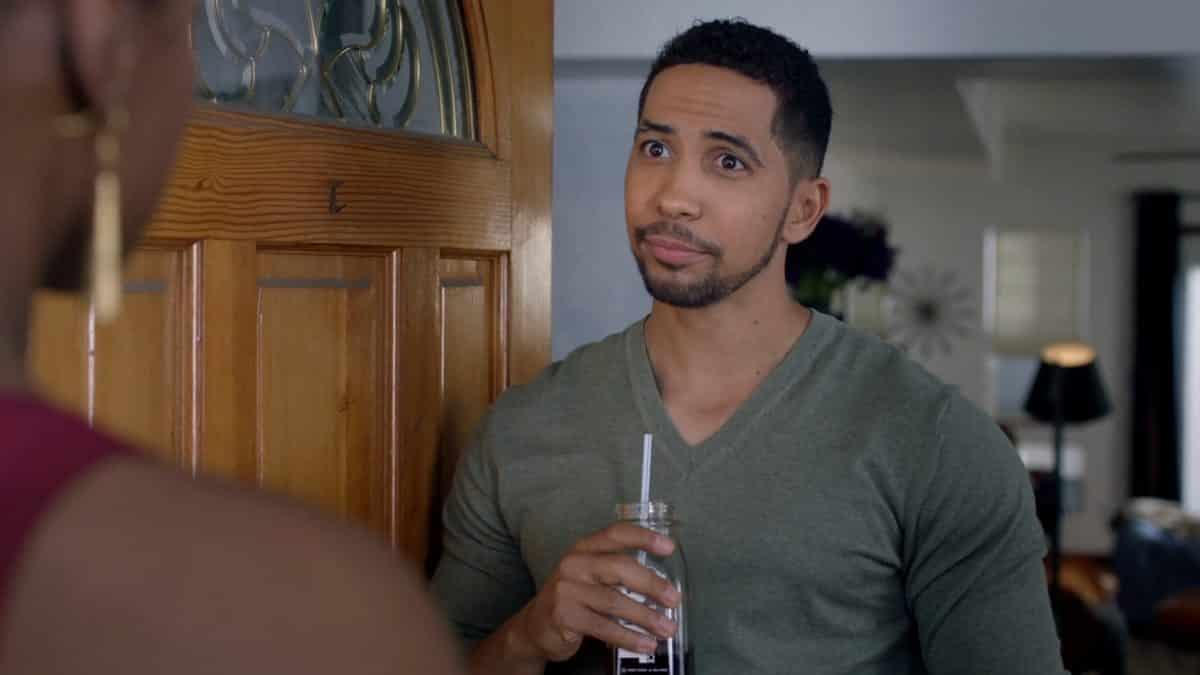 Chad (Neil Brown Jr.) talking to Issa.