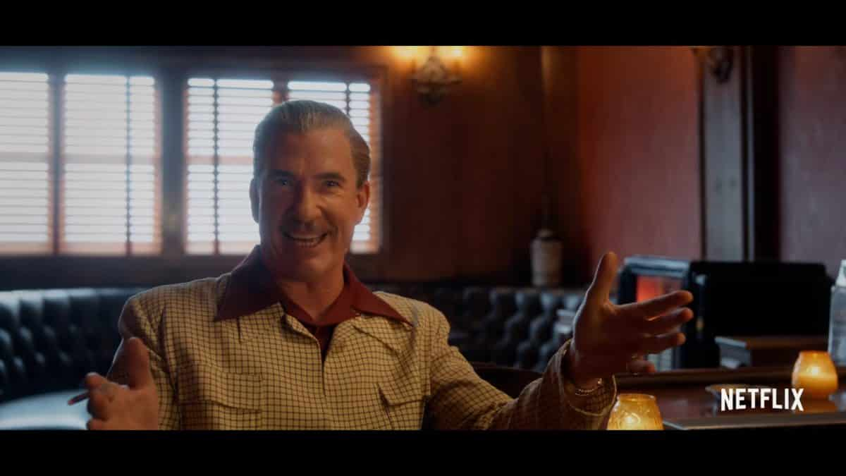 Ernie (Dylan McDermott) with an excited look on his face.