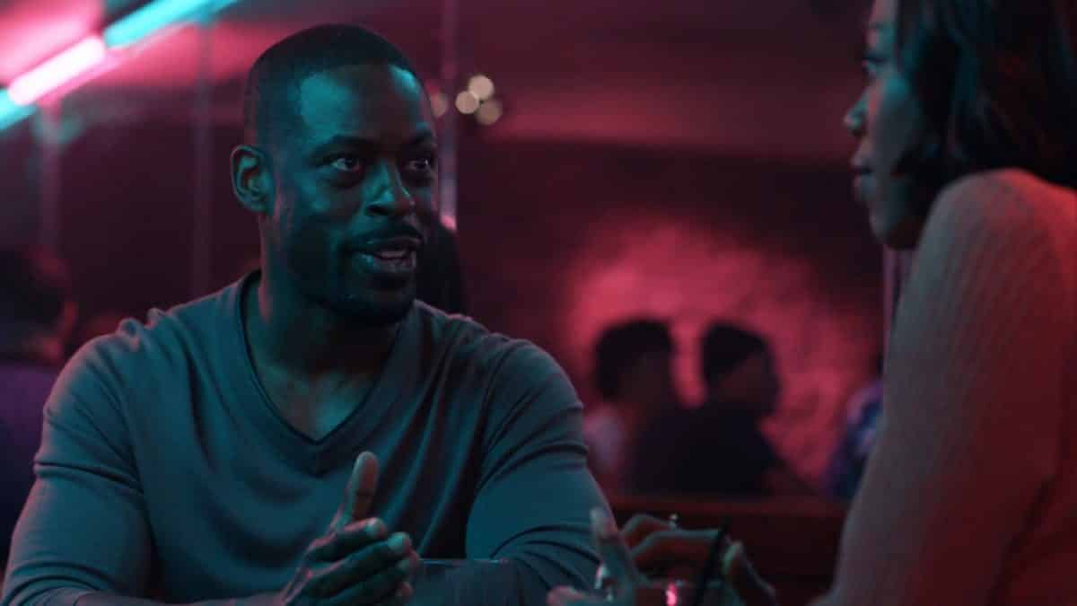 Lionel (Sterling K. Brown) on a date with Molly.
