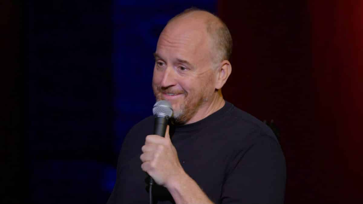 Louis C.K. during his stand up set.