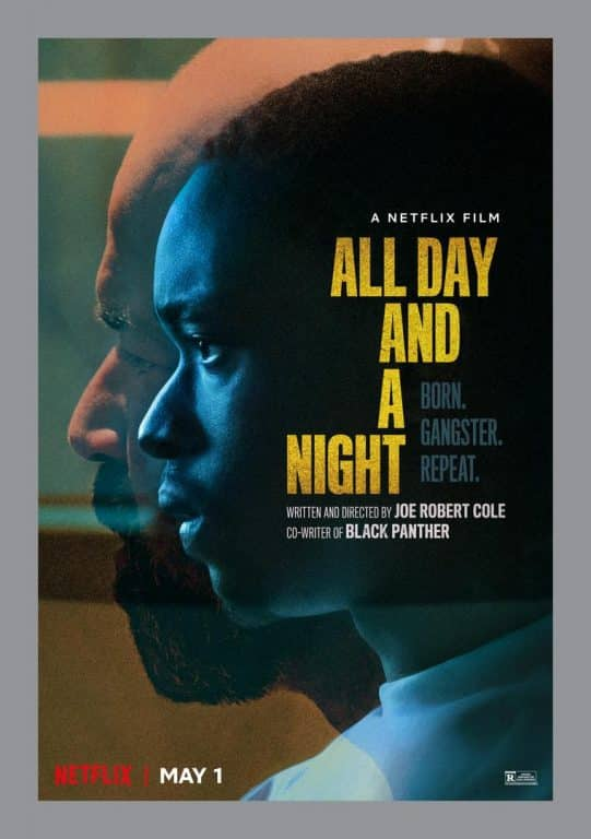 Movie Poster - All Day And A Night (Netflix)