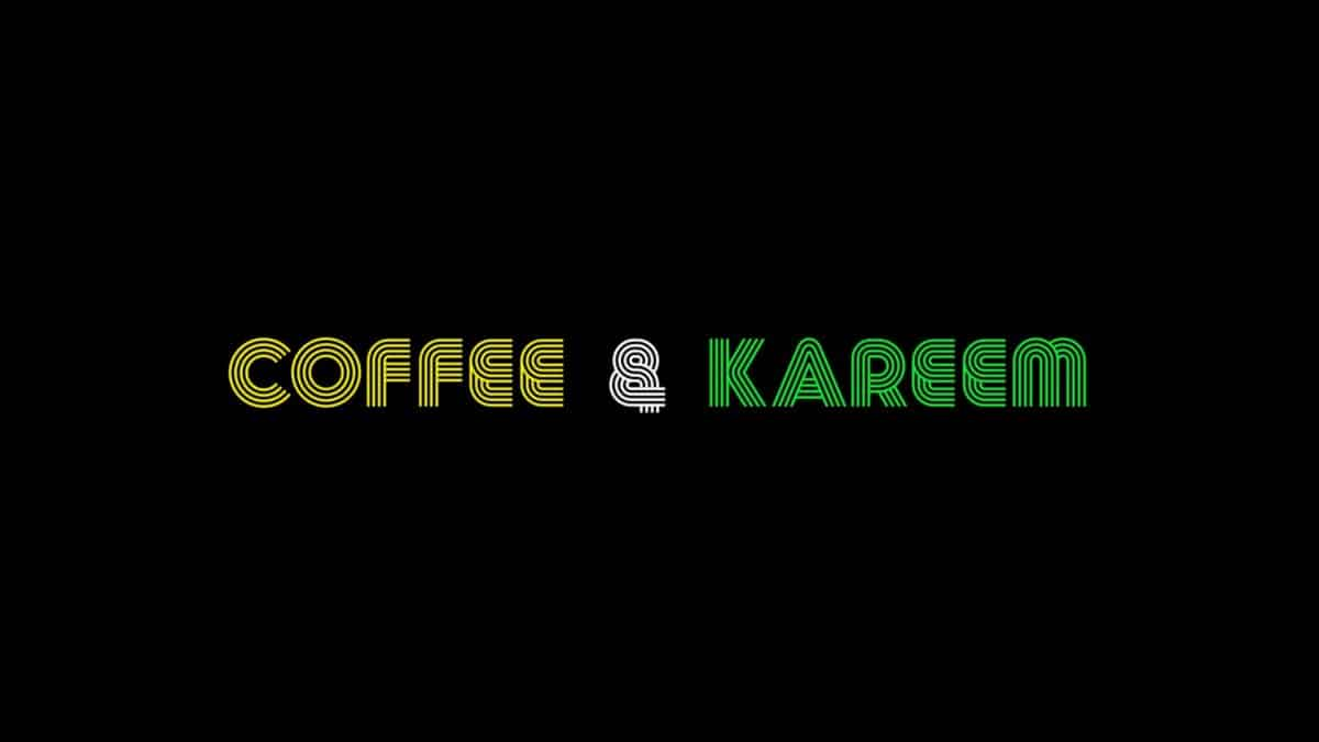 Title Card - Coffee and Kareem (2020)