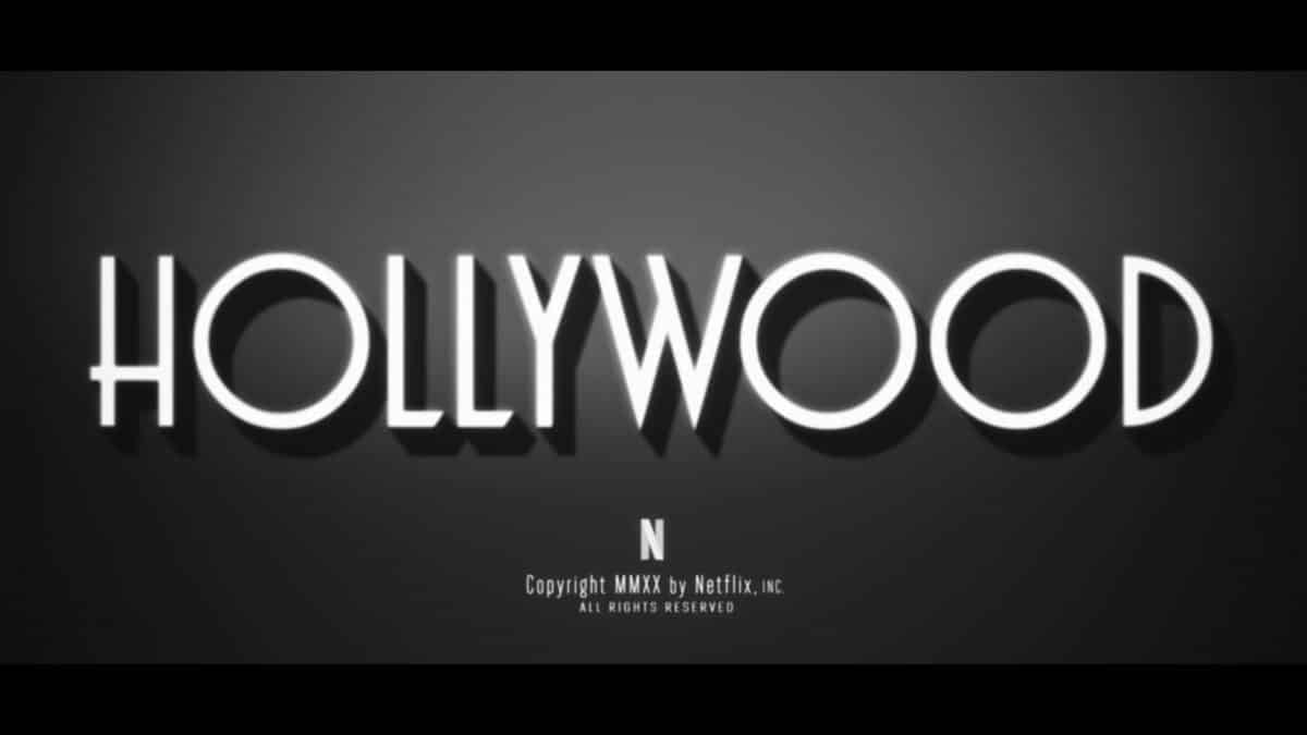 Title Card - Hollywood (Netflix)