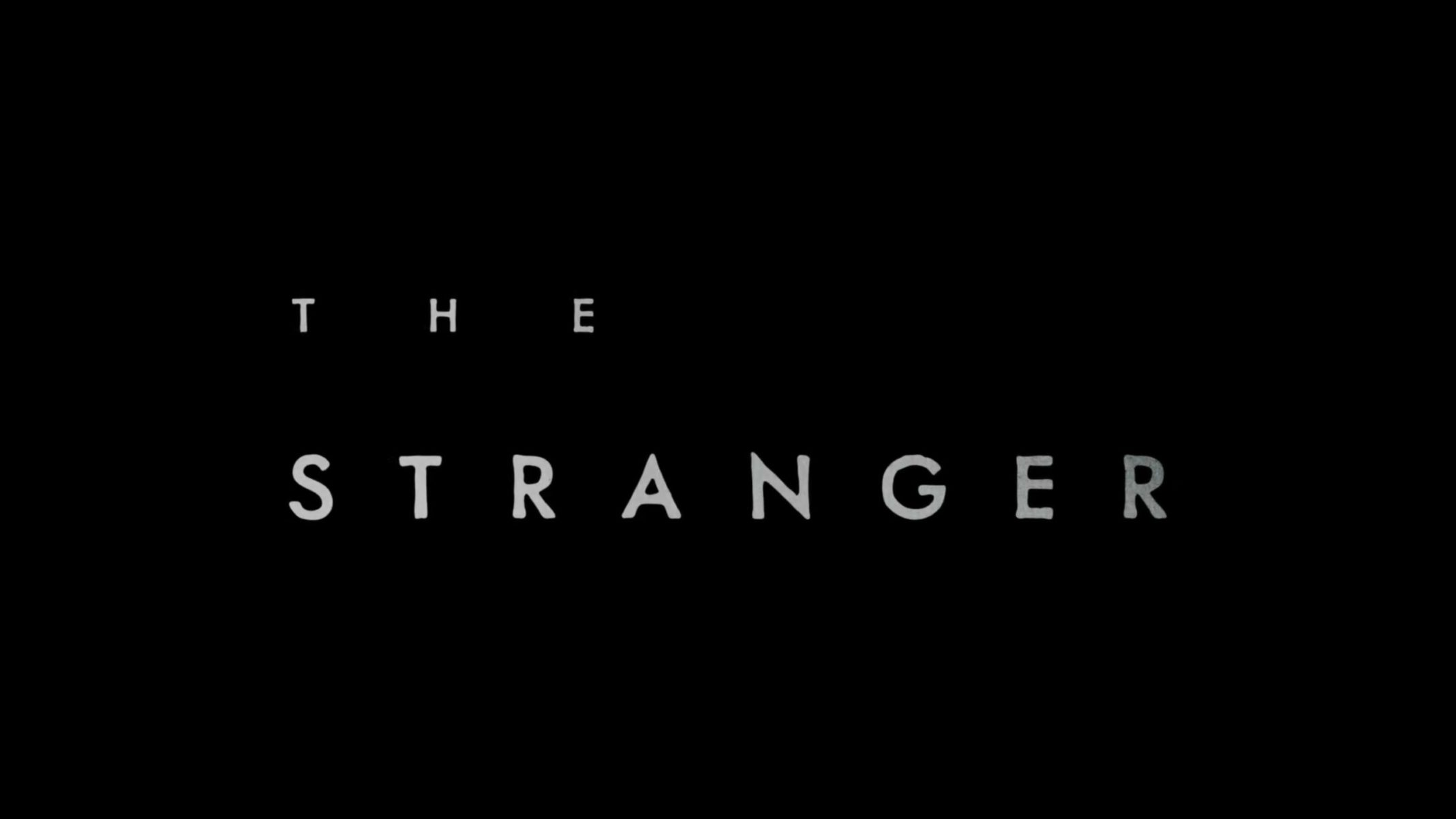 Title Card - The Stranger Season 1 Episode 1 to 3 [Series Premiere] (Quibi)