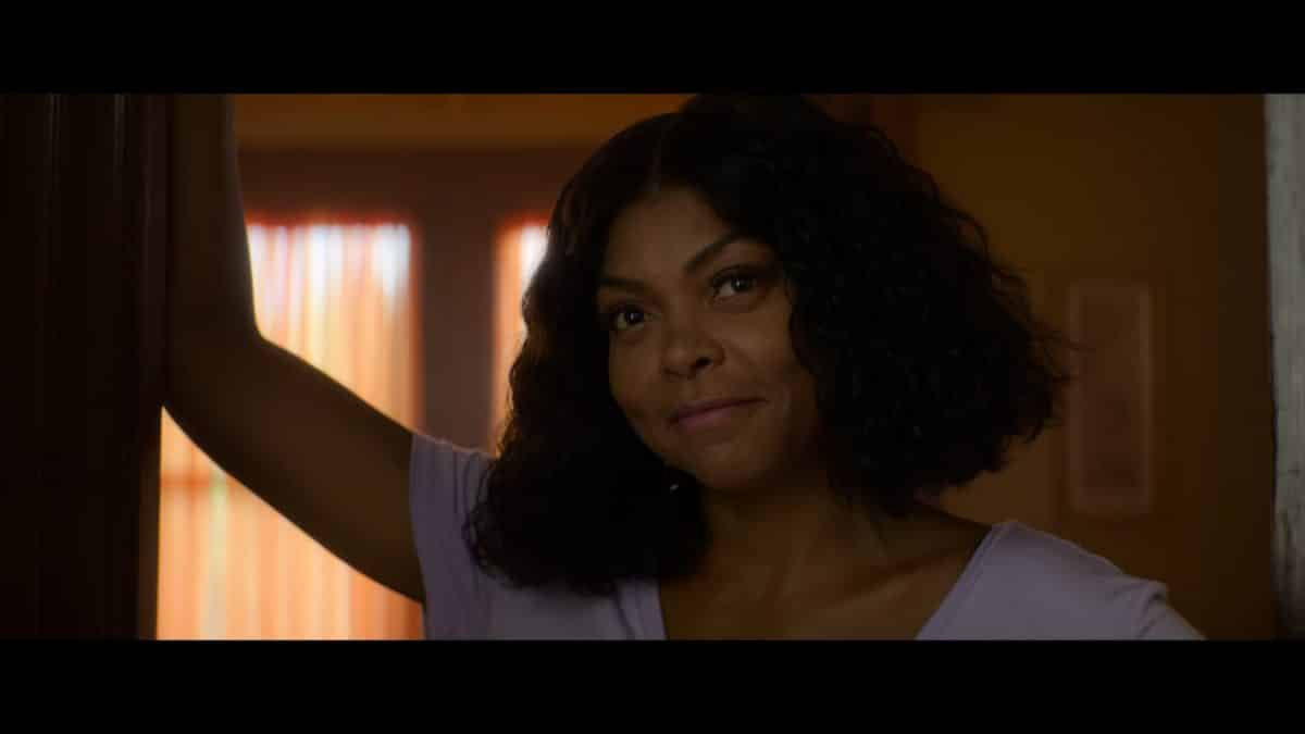 """Vanessa (Taraji P. Henson) giving a """"Come Hither"""" look to James."""