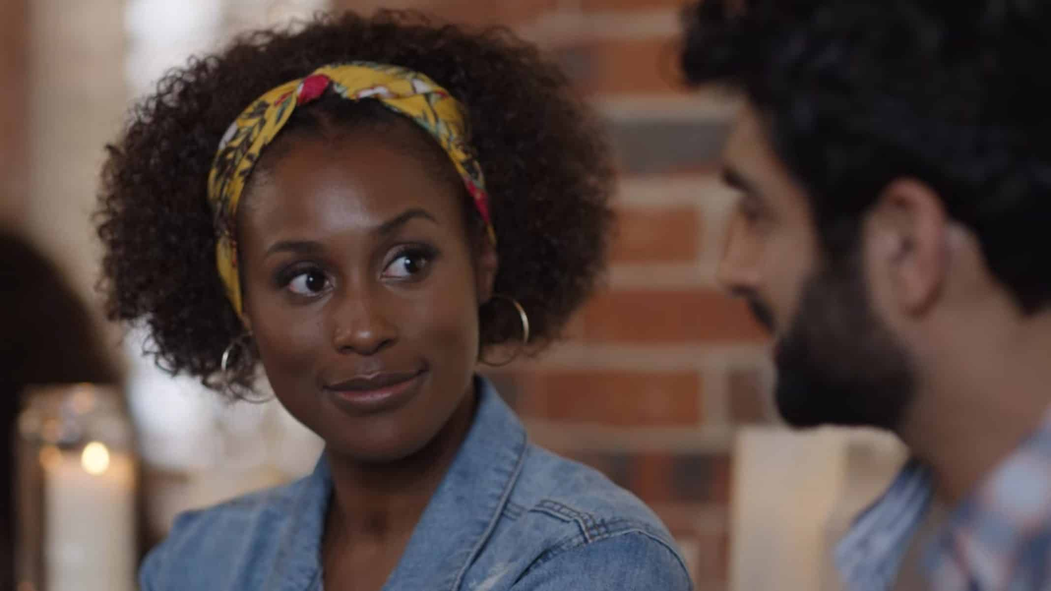 Leilani (Issa Rae) on a date.