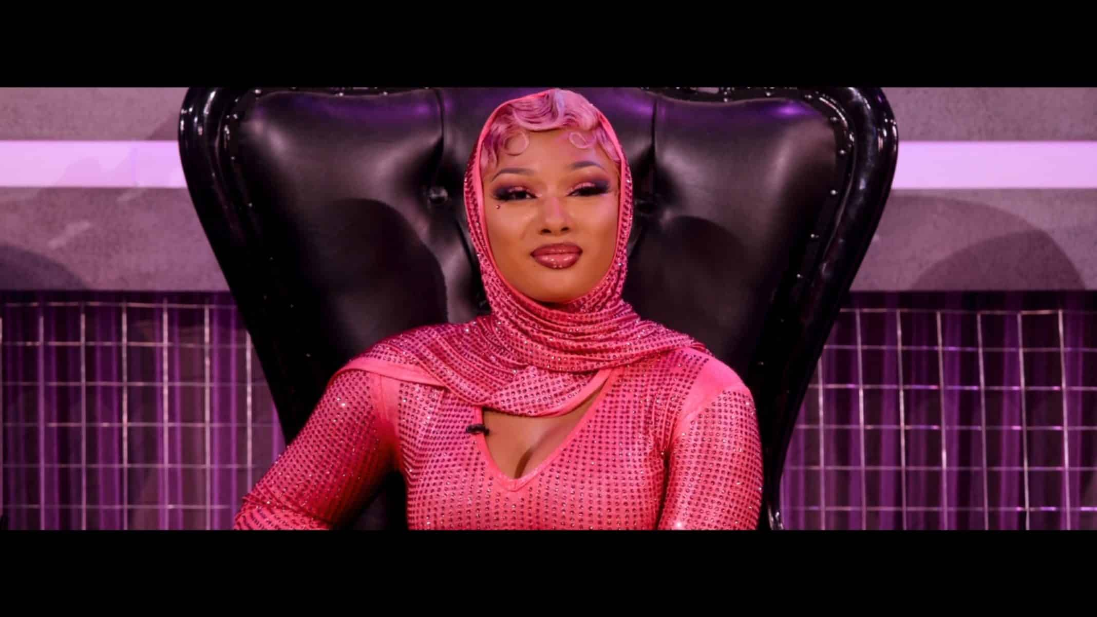 Megan Thee Stallion in all pink