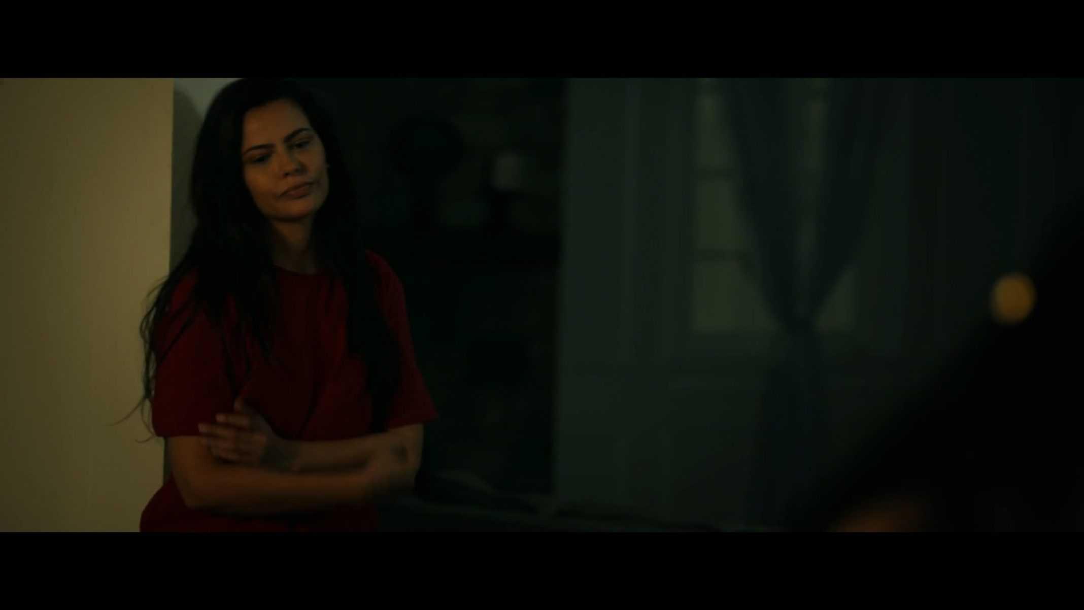 Officer Lopez (Gabriela Smith) admonishing her girlfriend.