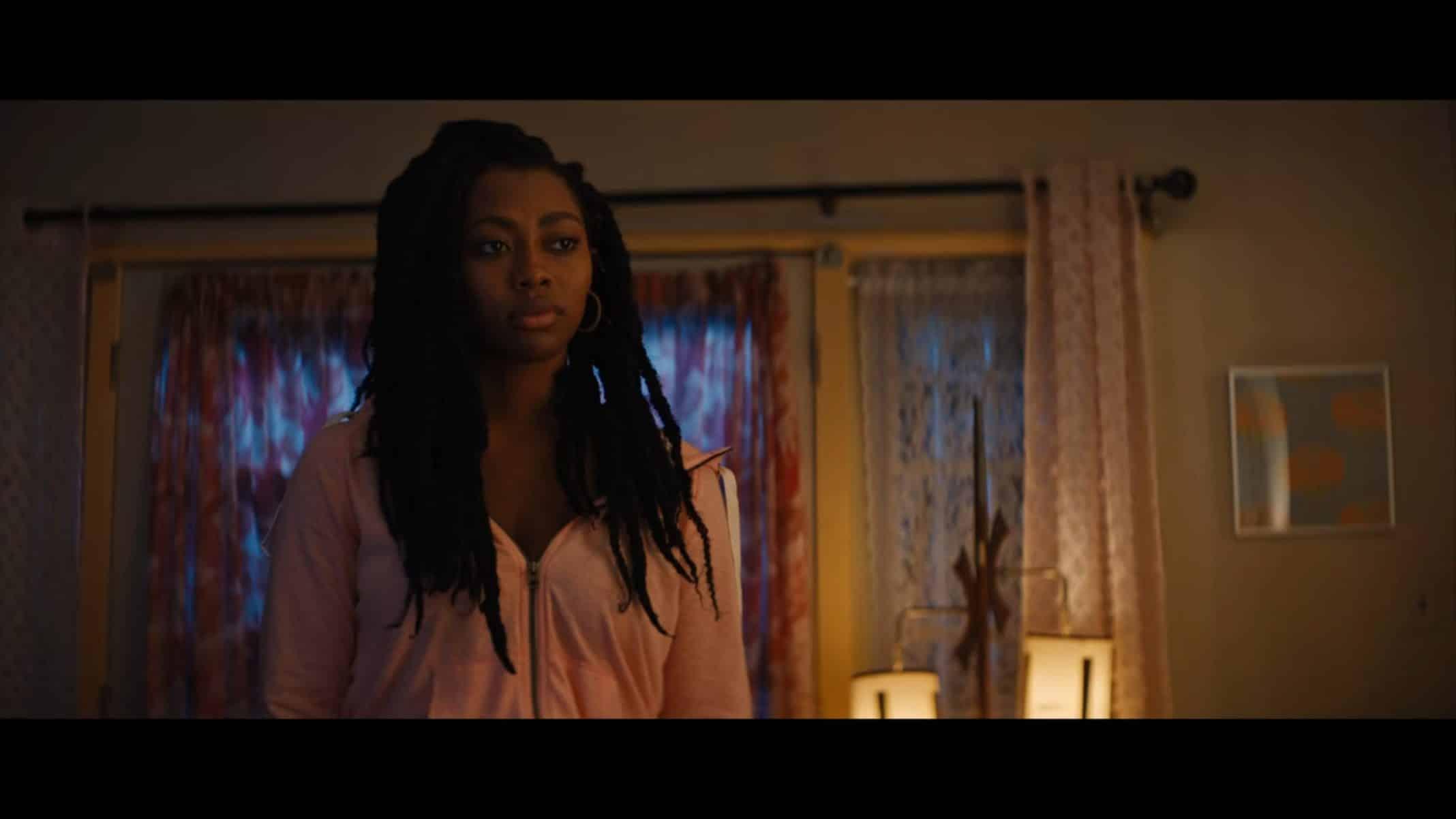 Shantaye (Shakira Ja'Nai Paye) in her living room.