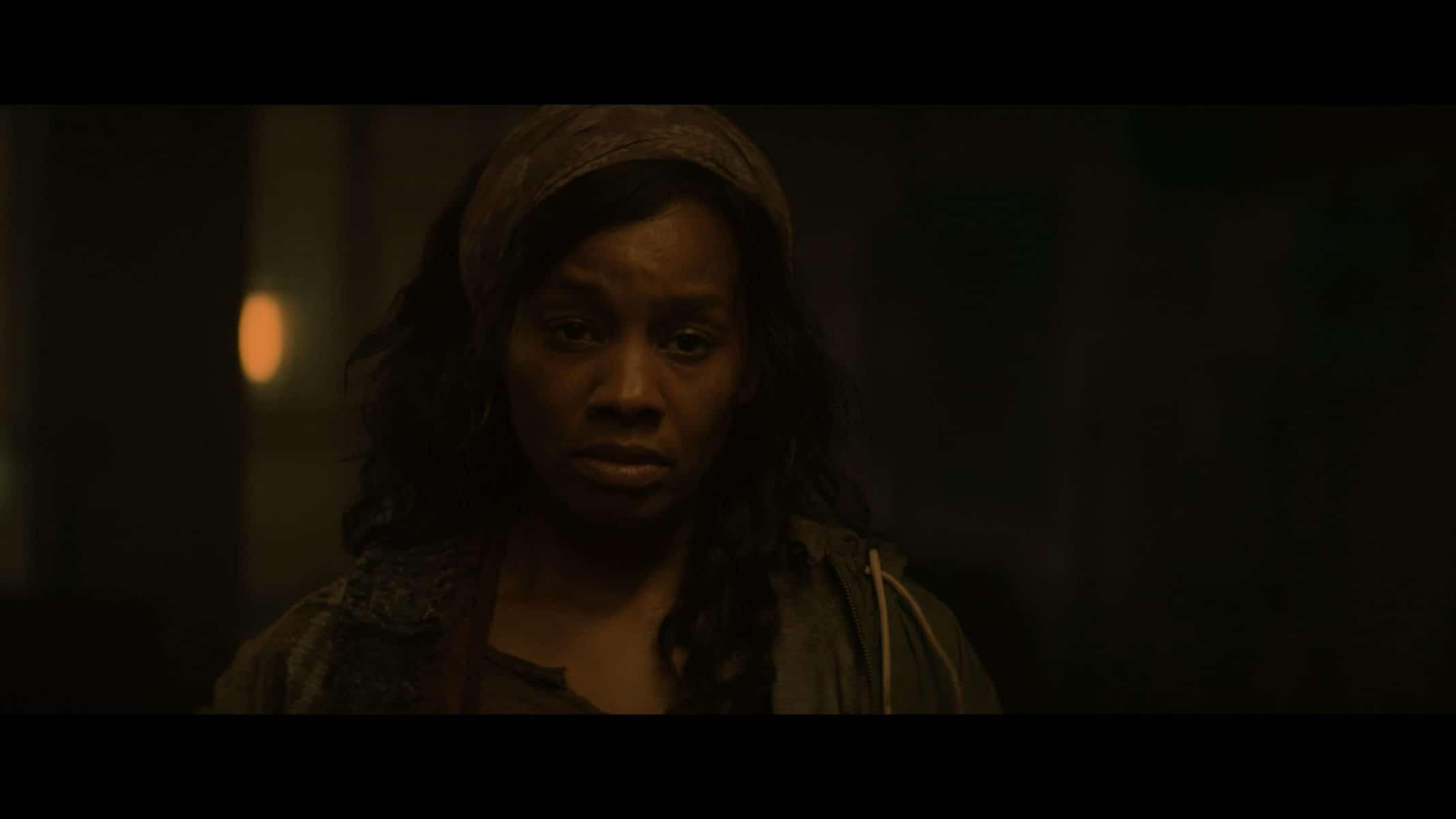Taneesha (Anika Noni Rose) looking exasperated.