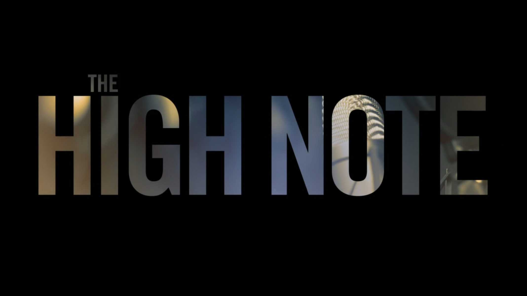 Title Card - The High Note (2020)