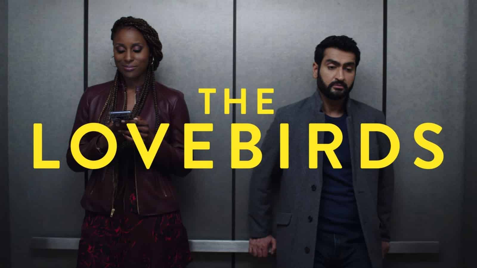 Title Card - The Lovebirds (2020)