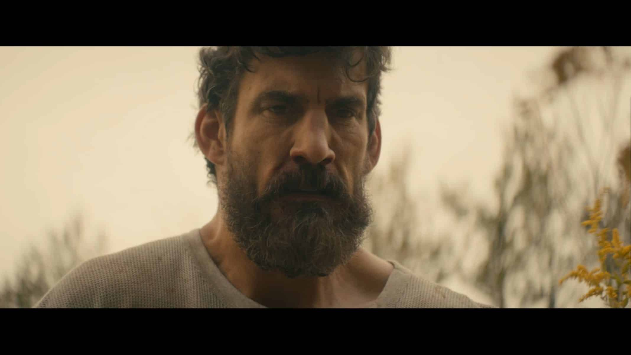 Apex (Robert Maillet) contemplating remaining aligned to Dominick.
