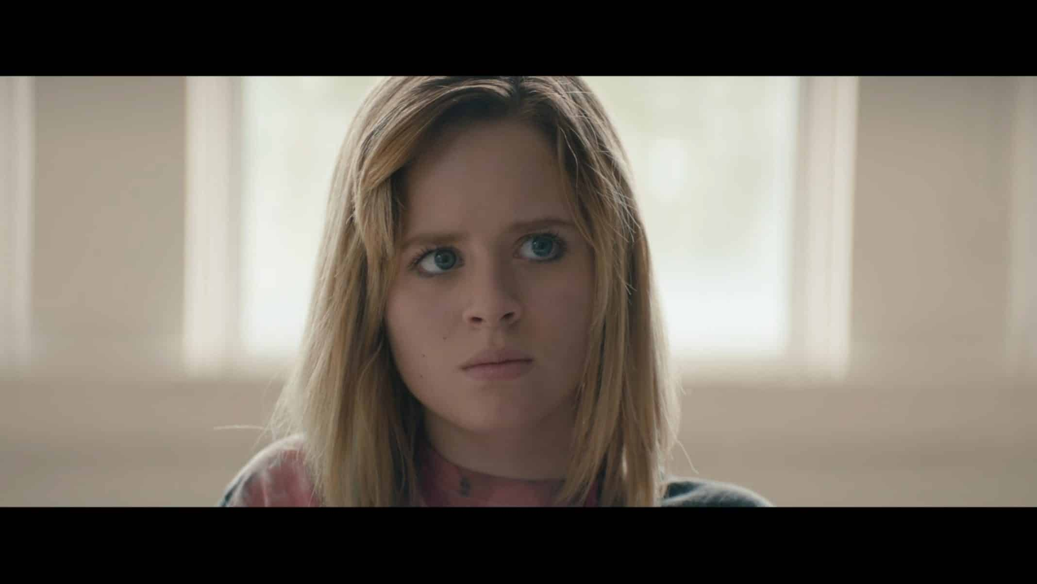Becky (Lulu Wilson) being questioned.